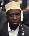 Sharif Sheikh Ahmed, 12th AU Summit, 090202-N-0506A-337-3.jpg