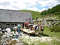 Shearing at Gwern-feifod - geograph.org.uk - 881908.jpg