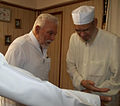Sheikh Abdul Majid al-Shazly hosted by Sheikh Ahmed Mahlawi at his home in Alexandria.jpg
