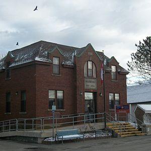 Sherbrooke, Nova Scotia - Post office in Sherbrooke, Nova Scotia, built in 1930