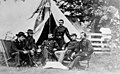 Sheridan and generals of the Army of the Shenandoah in the summer of 1864, Cedar Creek & Belle Grove National Historical Park, 1864. (b119d50bbb634c979a1be599809ed08a).jpg