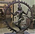 Shiva Nataraja (the Lord of the Dance). Underfoot, the dwarf of ignorance (1100-1200) (V&A).jpg
