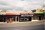 Shops - Australia Post (Monbulk Post Office), Monbulk Family Butcher, AUR Food Express (29659608030).jpg