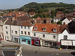 Shops in High Street, Warminster - geograph.org.uk - 239519.jpg