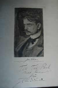 1. Adolf Paul cabinet card, Helsinki, Finland