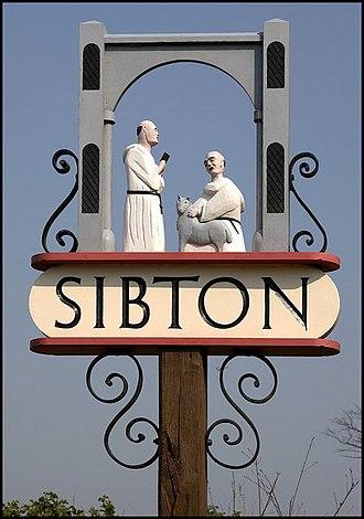 Sibton - Image: Sibton Village Sign geograph.org.uk 1588439