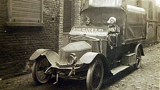 Siddeley-Deasy - Siddeley-Deasy ambulance, WWI