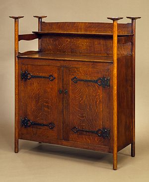 Charles Voysey (architect) - A sideboard by Voysey, Nielsen, Elsley and Company, Ltd