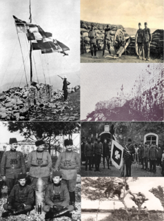 Siege of Scutari (1912–13) Allied forces of Montenegro and Serbia against forces of the Ottoman Empire.