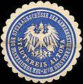Siegelmarke Der Vorsitzende der Steuerausschüsse der Gewerbesteuerkassen III und IV - Stadtkreis Altona W0204483.jpg