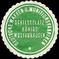 Siegelmarke Deutsche Waffen - und Munitionsfabriken - Schiessplatz Königs - Wusterhausen W0224446.jpg