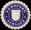 Siegelmarke Gemeinde Schlatt W0313148.jpg