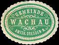 Siegelmarke Gemeinde Wachau Amtsh. Dresden-Neustadt W0314468.jpg