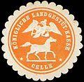 Siegelmarke Königliche Landgestüt-Kasse - Celle W0260909.jpg