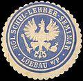 Siegelmarke Königliches Schul-Lehrer-Seminar - Loebau - Westpreußen W0260139.jpg