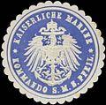 Siegelmarke K. Marine Kommando S.M.S. Pfeil W0357687.jpg