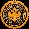 Siegelmarke Kaiserlich Königliche Staatsbahndirection - Wien W0213588.jpg