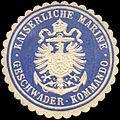 Siegelmarke Kaiserliche Marine - Geschwader - Kommando W0214216.jpg
