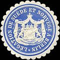 Siegelmarke Legation de Suede et Norvege a Berlin W0223590.jpg
