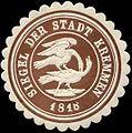 Siegelmarke Siegel der Stadt Kremmen 1818 W0313331.jpg