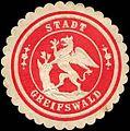 Siegelmarke Stadt Greifswald W0219267.jpg