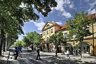 Sieradz - Image: Sieradz, ulica Kościuszki