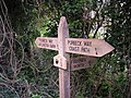 Sign on the Purbeck Way - geograph.org.uk - 268791.jpg