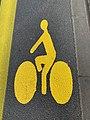 Signalisation Horizontale Cyclistes Rue Neuilly Fontenay Bois 1.jpg