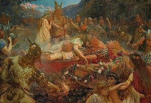 Brynhildr - Sigurd and Brynhild's funeral