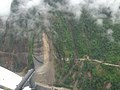 Sikkim earthquake aerial survey by Indian Air Force helicopter.jpg
