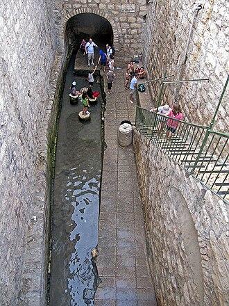 Pool of Siloam - The Byzantine pool of Siloam