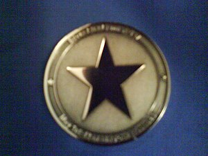 The Silver Star Families of America - Silver Star Challenge Coin