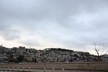 Silwan, Jerusalem vicinity from near Temple Mount south.jpg