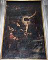 Simone Cantarini su disegno di Guido Reni, Cristo crocifisso che risana la gamba a San Pellegrino.JPG