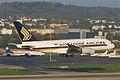 Singapore Airlines Airbus A380-841; 9V-SKJ@ZRH;16.04.2011 595cd (5628830075).jpg