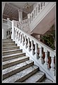 Singapore Raffles Stairs to Long Bar-1 (8321683962).jpg