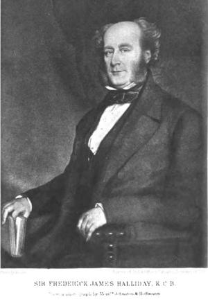 Frederick James Halliday - Sir Frederick James Halliday