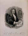 Sir Hans Sloane. Stipple engraving by J. B. Bird after S. Sl Wellcome V0005470EL.jpg