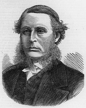 James Cockle - Sir James Cockle, first Chief Justice of Queensland, 1876