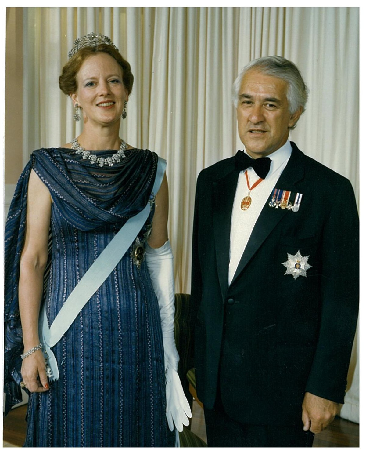 Sir Paul Reeves and Queen Margrethe II Denmark.jpg