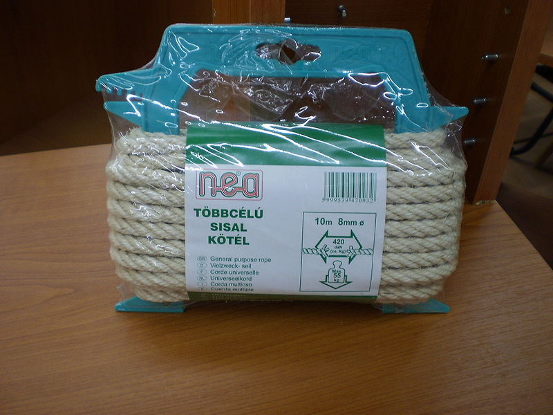 File:Sisal rope.JPG