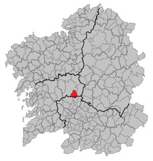 Dozón - Image: Situacion Dozón