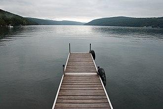 Skaneateles Lake - Dock in Skaneateles Lake