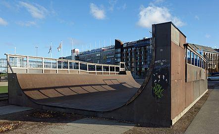 Skateboard ramp between Göteborg Opera and Nordstan.jpg