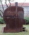 Skulptur Märkischer Platz (Mitte) Bertolt Brecht&Igael Tumarkin&1991.jpg