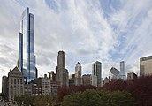 Skyline de Chicago desde el centro, Illinois, Estados Unidos, 2012-10-20, DD 04.jpg