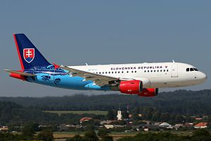 Slovak Government Flying Service Airbus ACJ319.jpg