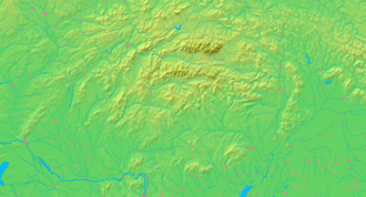 Tlmače - Image: Slovakia background map
