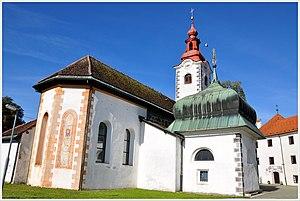 Šmarje–Sap - The parish church in Šmarje–Sap