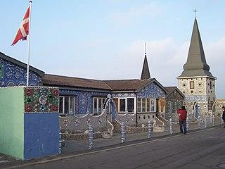 Thyborøn town in Denmark